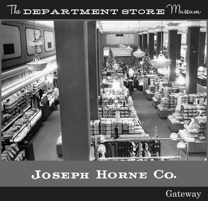 "Joseph Horne/'s Company 1994 Holiday Window Banner 24/"" X 72/"""