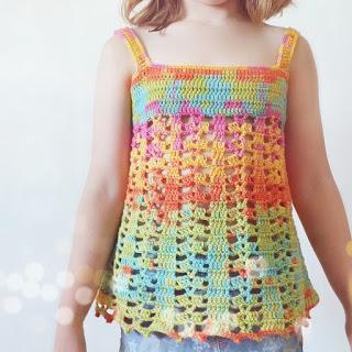 blusa verano crochet tutorial paso a paso