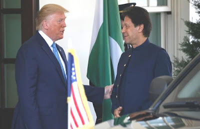 Imran Khan, Prime minister of Pakistan and The US President