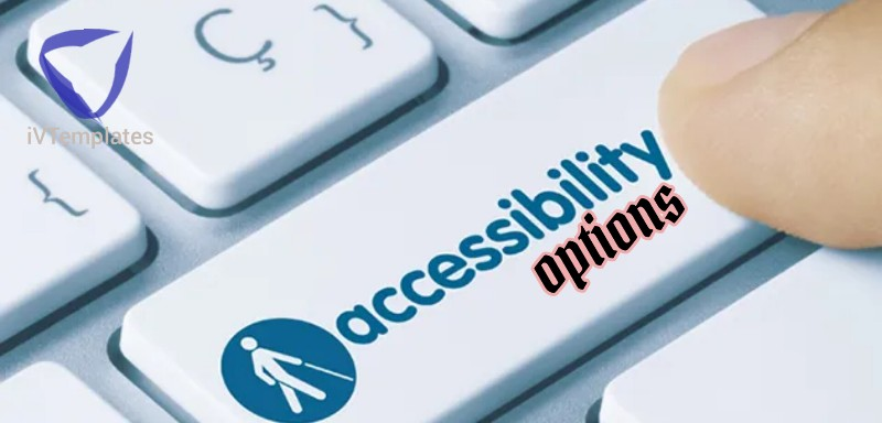 Accessibility options - WordPress vs Blogger