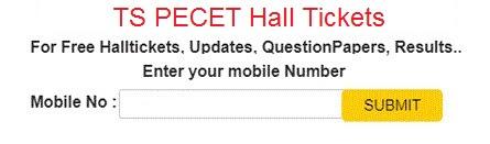 TS pecet hall tickets 2021