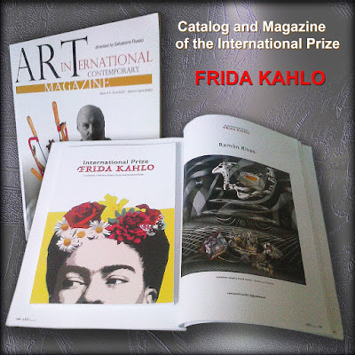 "Catálogo del Premio Internacional FRIDA KAHLO y la Revista ""Art International Contemporary Magazine"""