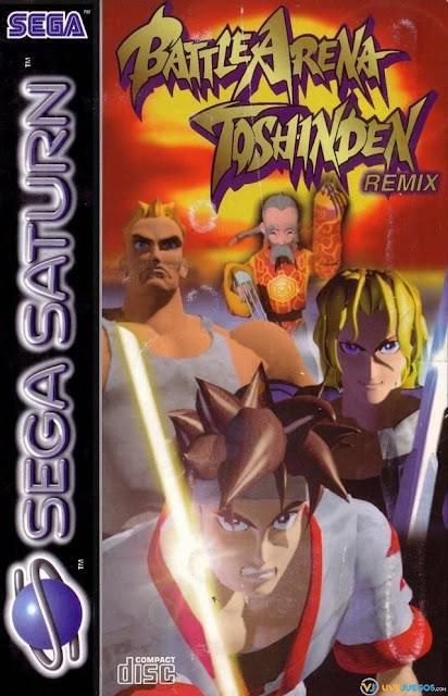 Battle Arena Toshinden Remix ISO Sega Saturn