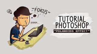 Editing keren Efek Polaroid di Photoshop