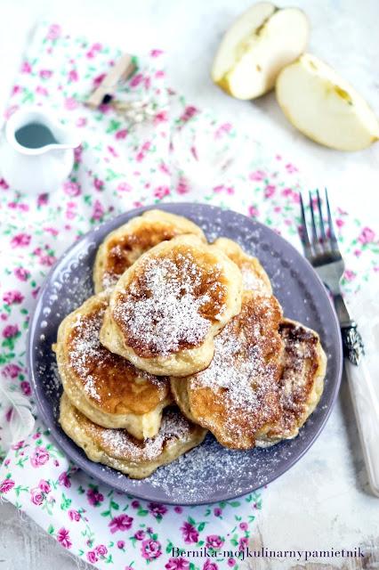 racuchy,kefir,jablka,sniadanie,placki, deser, bernika-kulinarny pamietnik