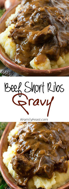 Delicious #Beef Short Ribs Gravy  #recipe #comfortfood