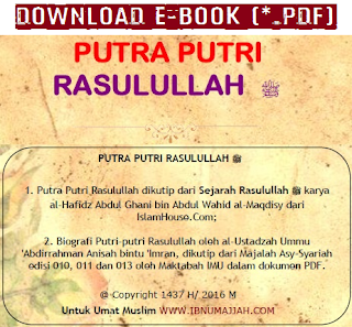 [Download E-Book] Putra Putri Rasulullah Sallallahu 'Alaihi Wasallam