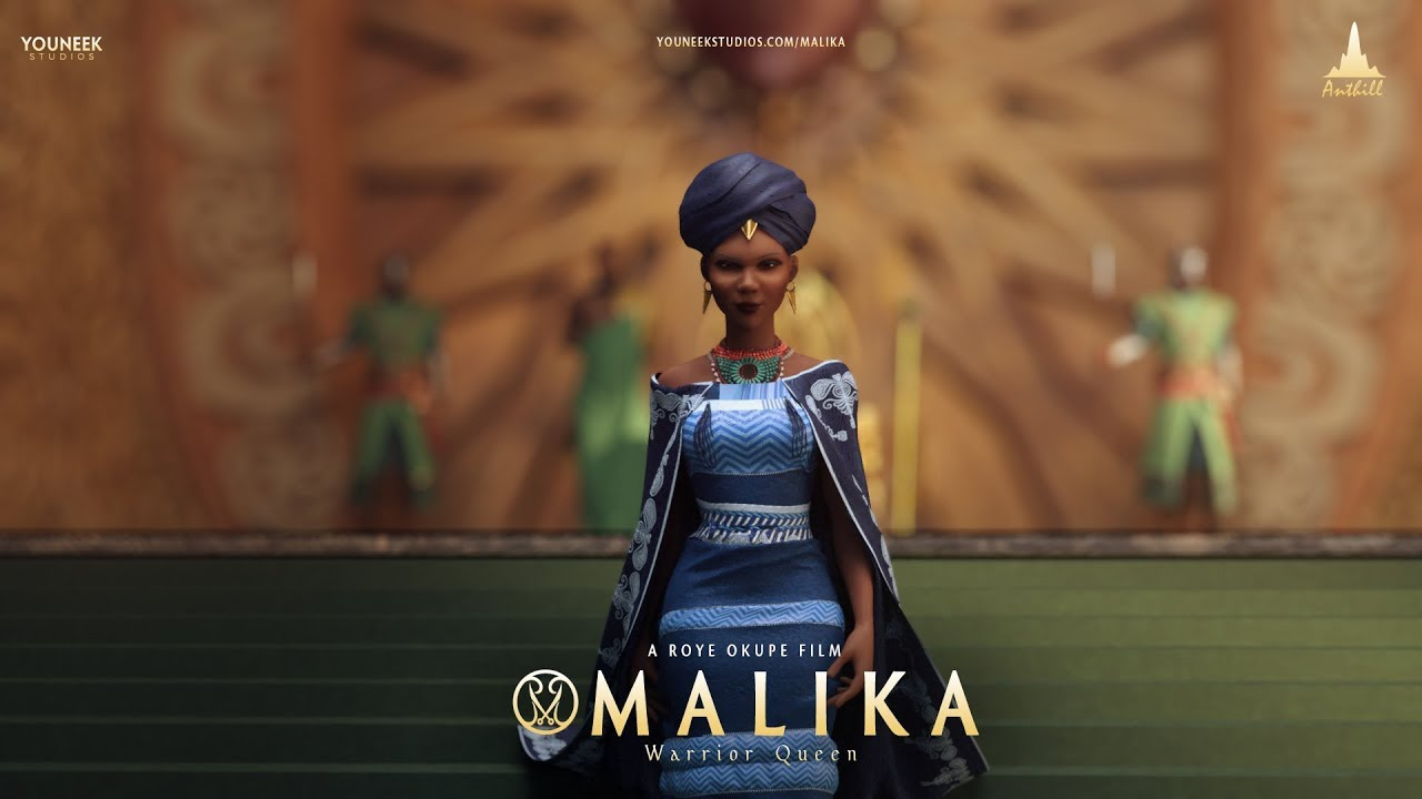 """Nollywood's Upcoming First Animated Feature Film """"Malika: Warrior Queen"""" Is Inspired By The True Story Of Queen Amina Of Zaria"""