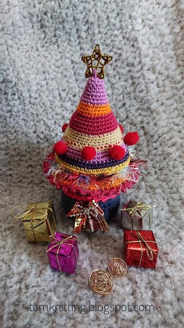 Patrn amigurumi Arbol de Navidad a crochet Tamknitting