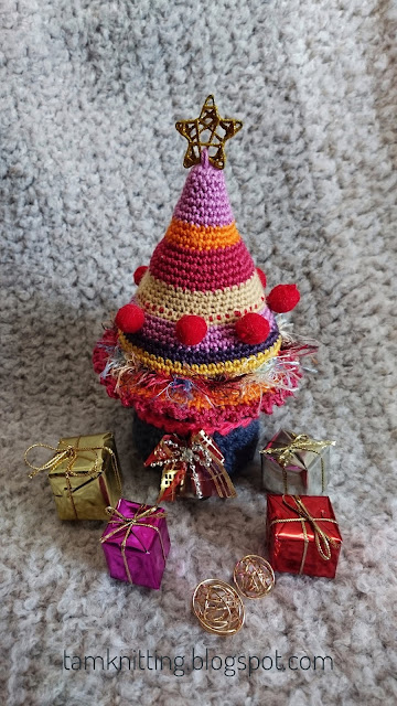 Full Of Beautiful Color And Adorned With Amigurumi A Christmas ... | 640x360