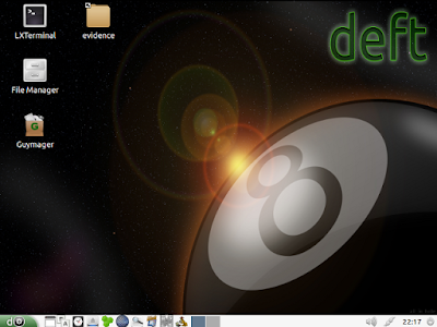 Intro image how to install deft linux