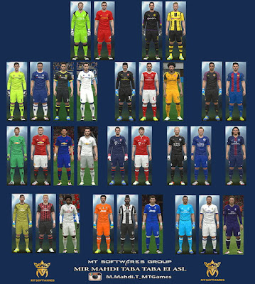 PES 2016 New Kit 2016-17 v.1.4 by MT Games 1991