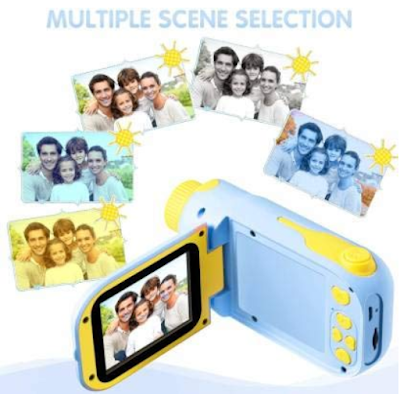 "RUilY® Kids Mini Camcorder with 5MP Camera, 16MB Memory and 2.4"" TFT Screen"