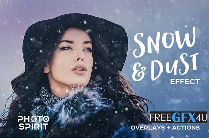 51 Snow And Dust Overlay Effects Pack