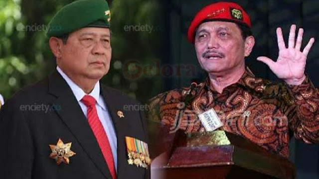 Siapa Biayai Demo 8 Oktober, SBY Minta Airlangga, Luhut, dan BIN Sebut Saja