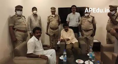 Nani named the minister who met Anandayya