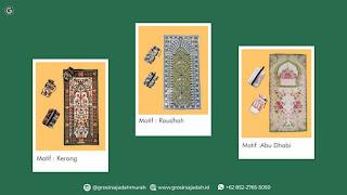 Grosir Sajadah Jawa Timur | +62 852-2765-5050