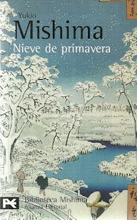 Nieve de primavera Yukio Mishima