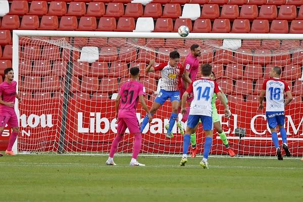 Sporting de Gijón - Málaga, alineaciones posibles