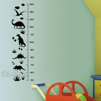 vinilo medidor altura infantil avion cohete planetas espacio animales dinosaurios construccion faro nautico marino