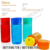 Jual Tumbler Plastik Reno Hydration Water Bottle, Tumbler Botol Minum Chielo Murah, Tumbler RENO HYDRATION WATER, tumbler chielo, souvenir tumbler, tumbler promosi