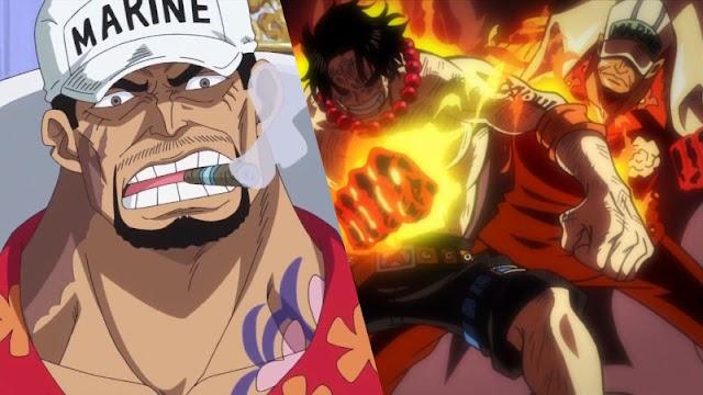 4 Karakter One Piece yang Dapat Mengalahkan Akainu