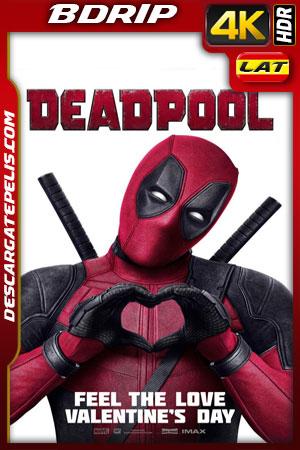 Deadpool (2016) 4k BDrip HDR Latino – Ingles