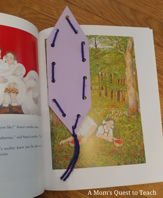 bookmark in A New Coat for Anna