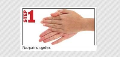 Hand hygiene menurut WHO