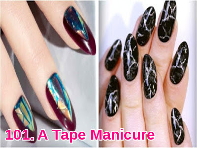 A Tape Manicure