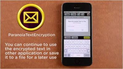 برنامج, موثوق, لتشفير, النصوص, والرسائل, والحفاظ, عليها, من, التجسس, Paranoia ,Text ,Encryption