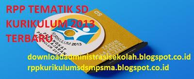 RPP Tematik Kelas 1 SD Kurikulum 2013