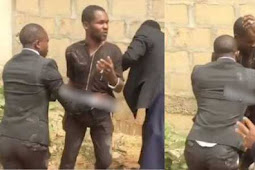 Watch Video As Pastor Catches Man Trying To Steal Tithe From Church