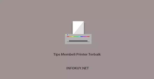 tips membeli printer