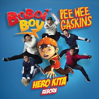 Pee Wee Gaskins Boboiboy Hero Kita