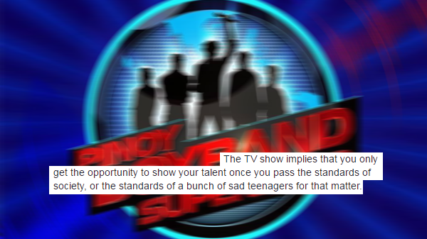 "Netizen criticizes ""Pinoy Boyband Superstar"""