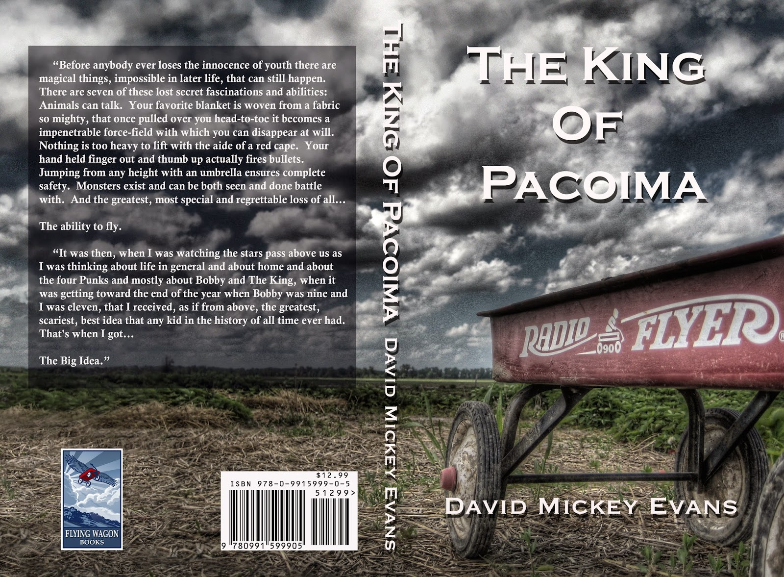 David Mickey Evans' Blog: THE FIRST REVIEW FOR THE KING OF PACOIMA!