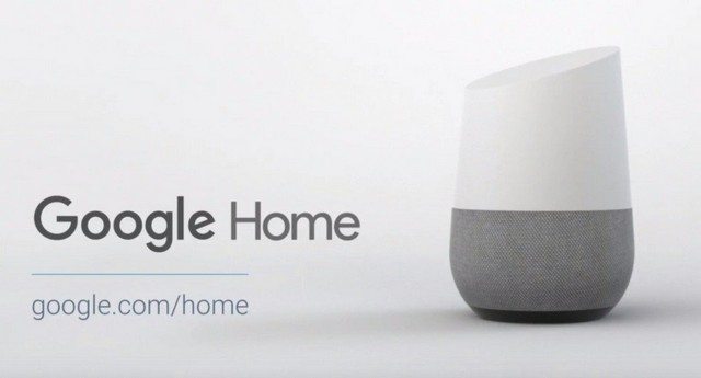 Google home logo with mini speaker
