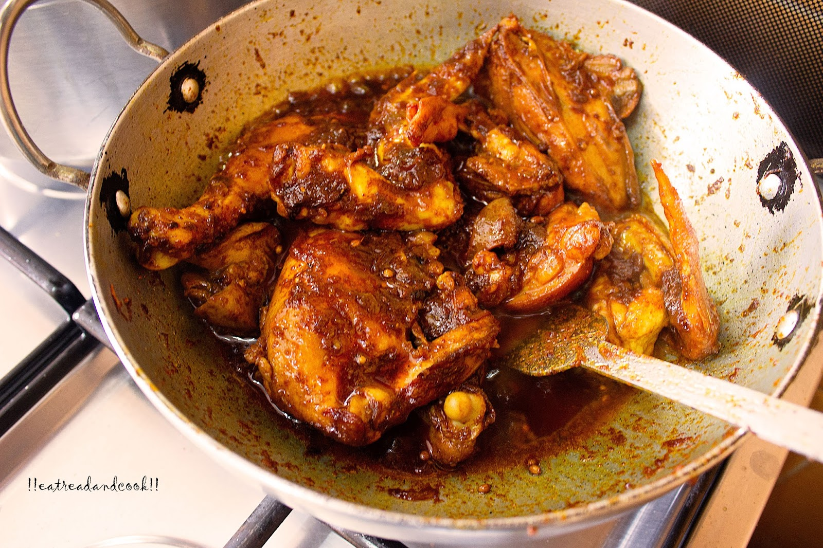 Chittagong chicken curry eat read cook how to make chittagong chicken curry recipe and preparation with step by step pictures ccuart Image collections