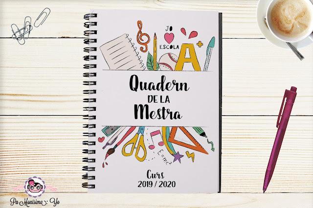 cuaderno de la maestra curso 2019 2020
