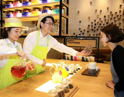 Source: Starbucks. Starbucks Teavana comes to Asia Pacific outlets.