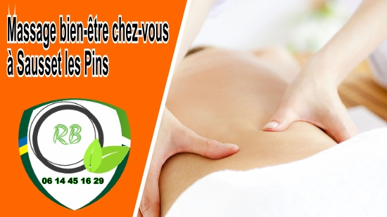 Massage bien-être chez-vous à Sausset les Pins;
