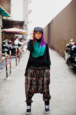 Hijaber Hipster topi hiphop