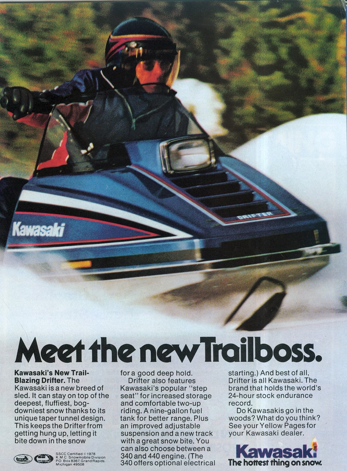 CLASSIC SNOWMOBILES OF THE PAST: November 2017