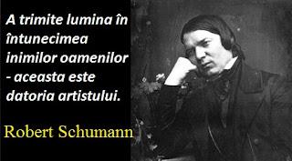 Citatul zilei: 8 iunie - Robert Schumann