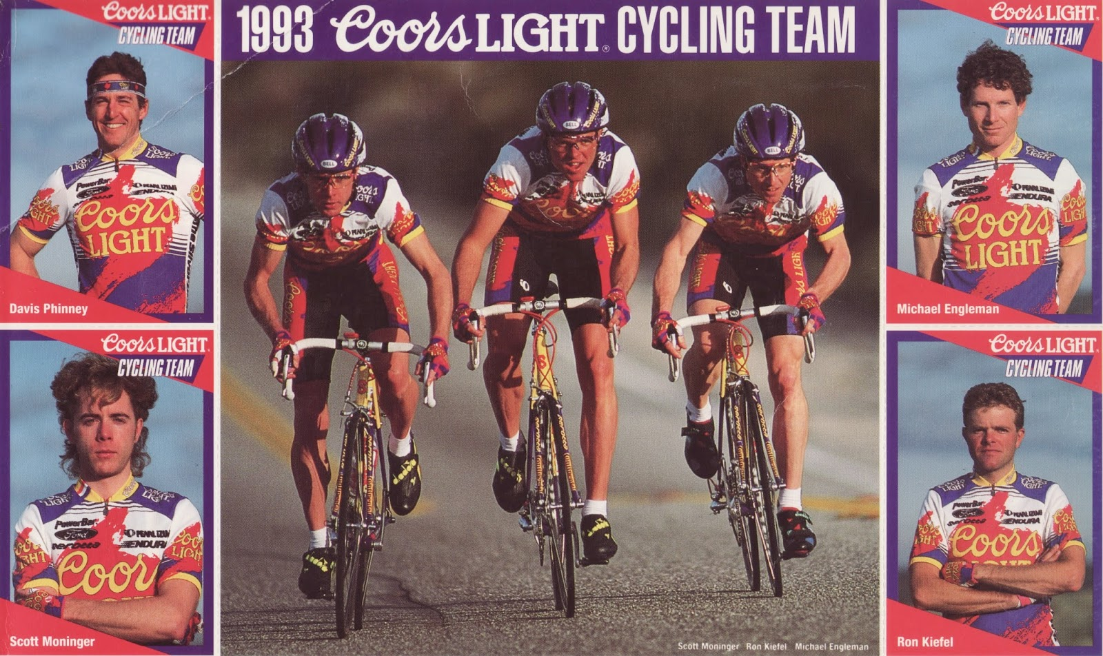 From the Archives  1993 Coors Light Cycling Team Cards 52ba25ea2