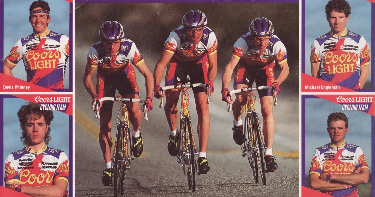 dea41522b From the Archives  1993 Coors Light Cycling Team Cards