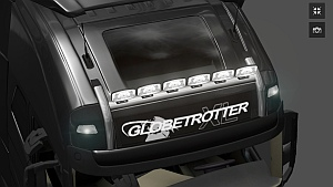 New lightbar for Volvo FH 2012