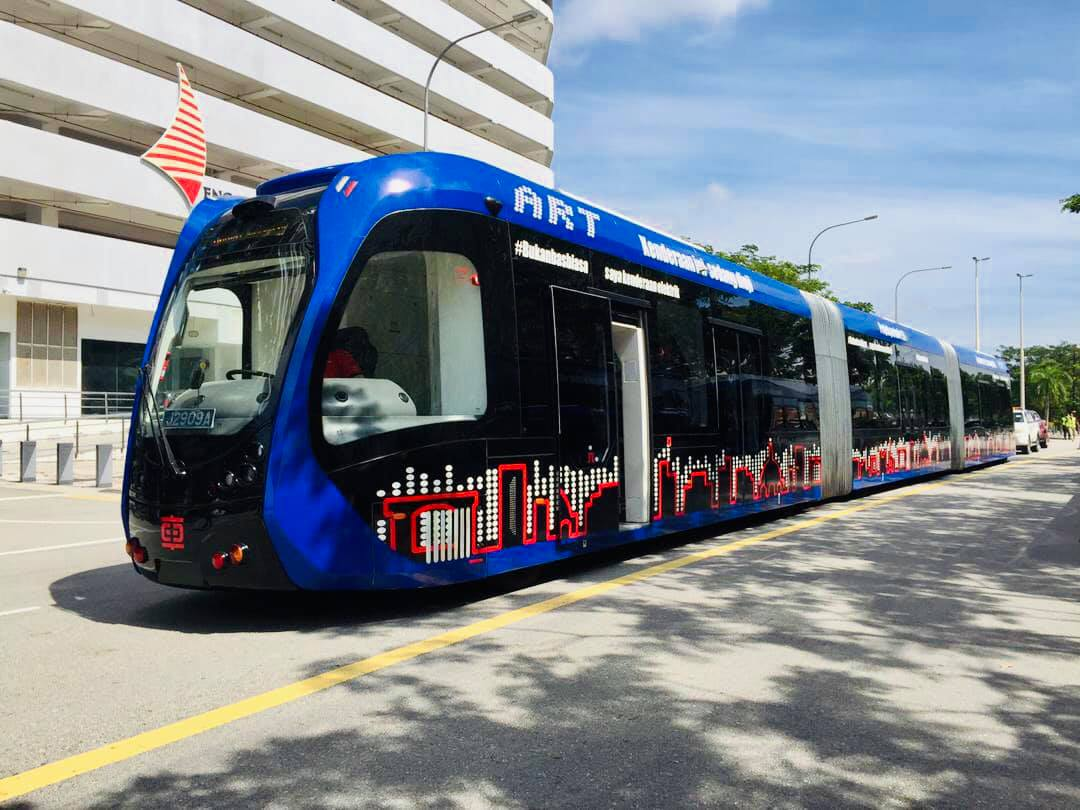 Menteri Besar Johor Rasmi Ujian Perintis Bas Rapid Transit Iskandar Malaysia (IMBRT)