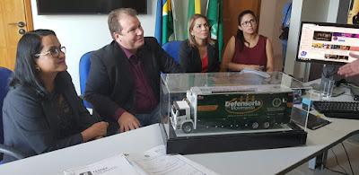 Deputado Dr. Neidson busca apoio da Defensoria Pública de Rondônia para ações do Chameron